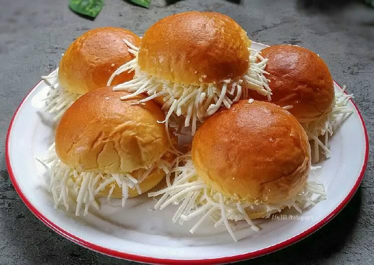 Resep: Roti Semir Keju (basic roti wortel tomat) lezat