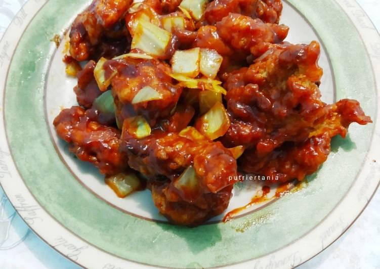 Bbq Chicken Poppers (Ayam Pop Bbq)