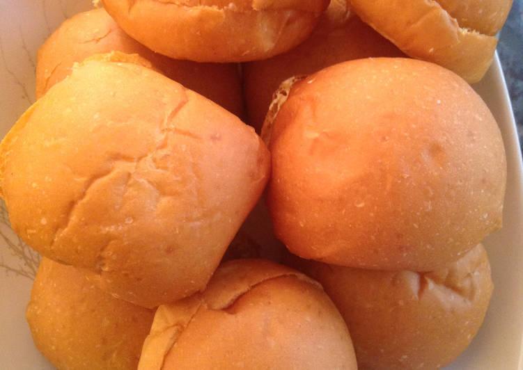 Resep: Roti Ubi Semir buttercream sedap