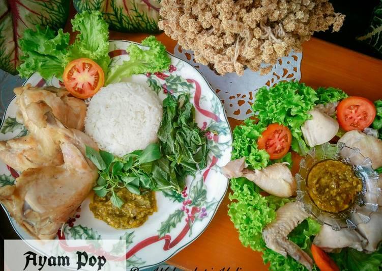 Ayam Pop Ala Rm. Padang