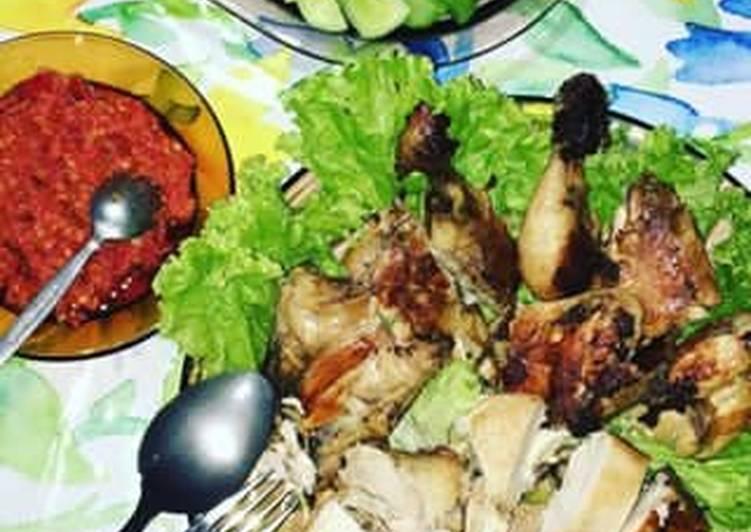 Cara Mudah memasak Ayam Pop panggang lezat