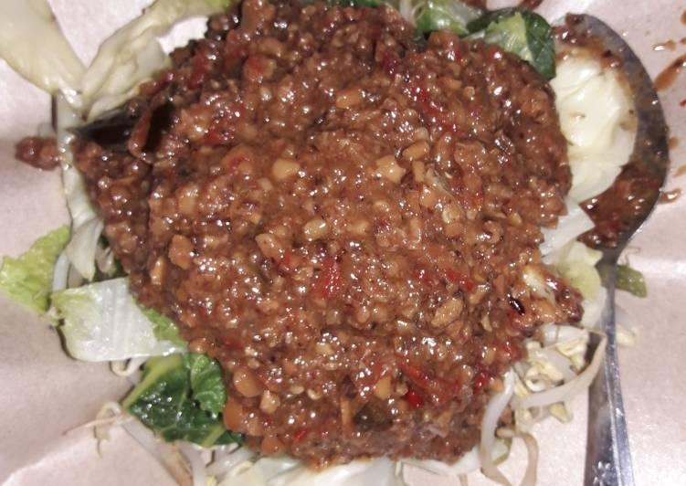 Resep memasak Pecel Sayur ala Salatiga Endesss enak