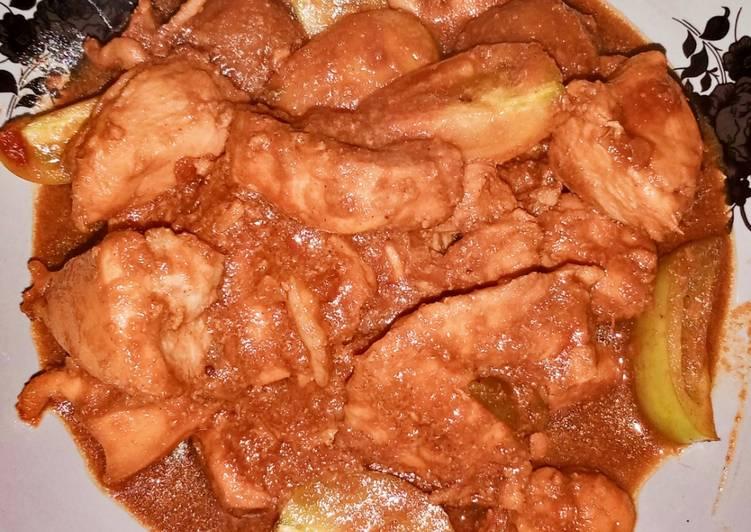 Resep membuat Dada Ayam Saos Tomato Nyusnyus Ala Bujang Tingting yang bikin ketagihan