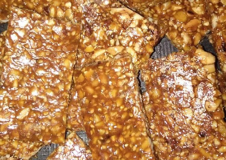 Cara memasak Teng-teng kacang istimewa
