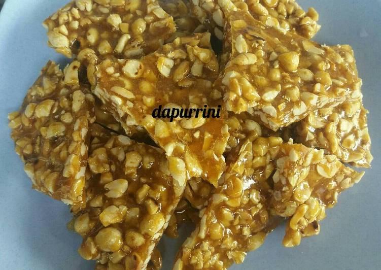 Resep: Enting-enting kacang ala resto