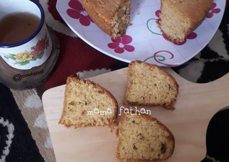 Cara membuat Cake ting ting kacang yang bikin ketagihan