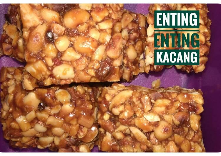 Cara mengolah Enting enting kacang istimewa