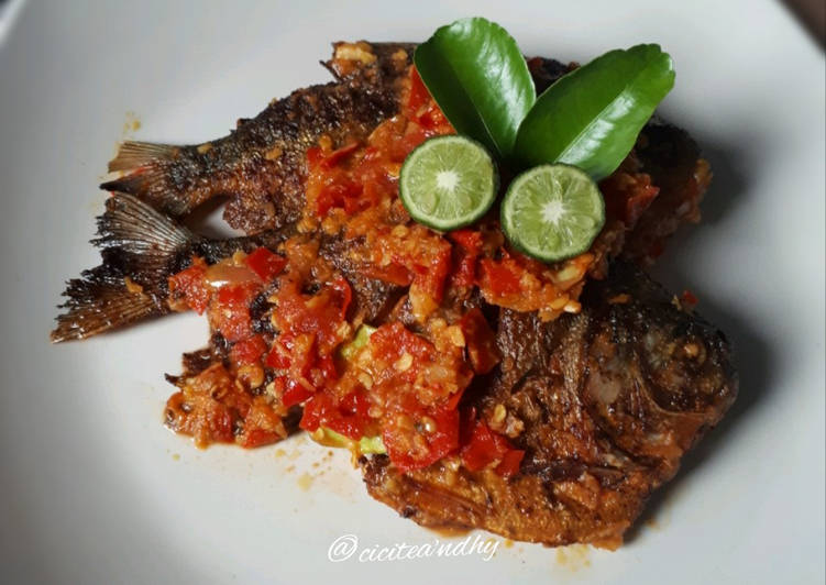 Resep: Balado ikan bawal yang menggugah selera