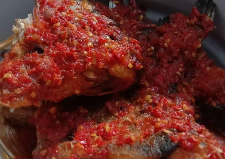 Ikan Bawal Balado