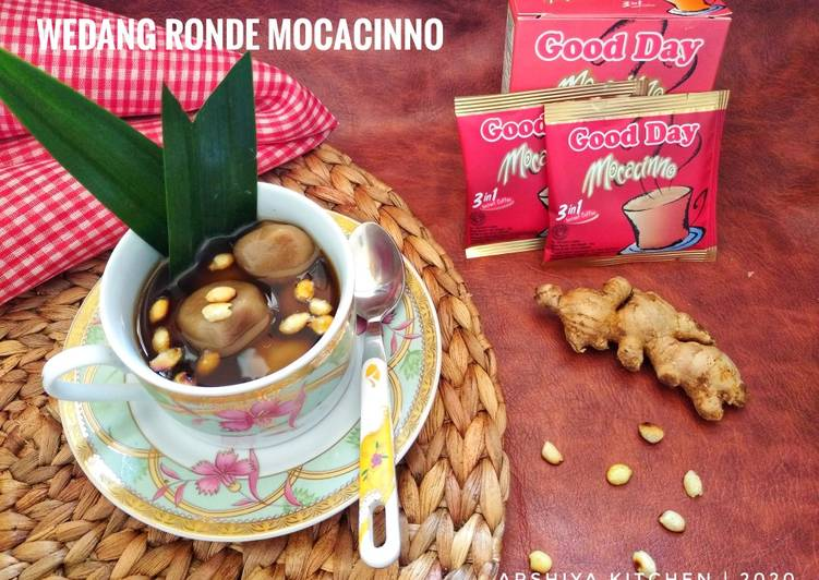 Resep: Wedang Ronde Mocacinno tabur Kacang yang bikin ketagihan