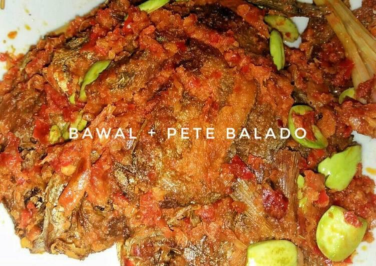 Bawal Laut + Pete Balado