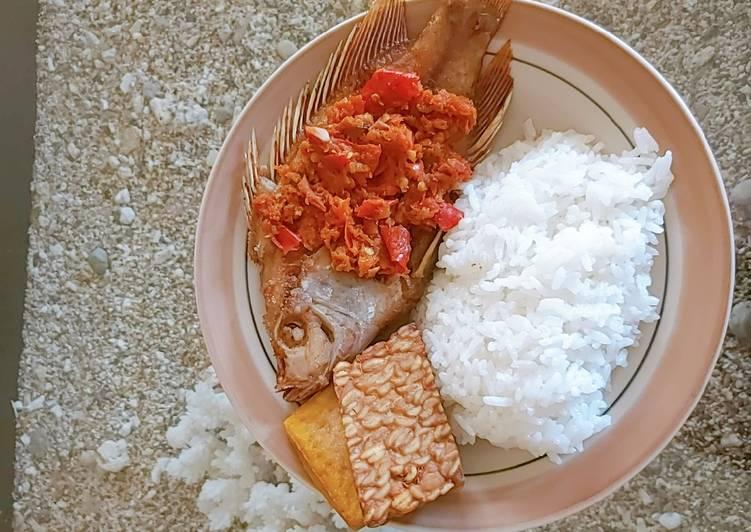 Resep: Ikan Mujaer Sambel Balado yang menggugah selera