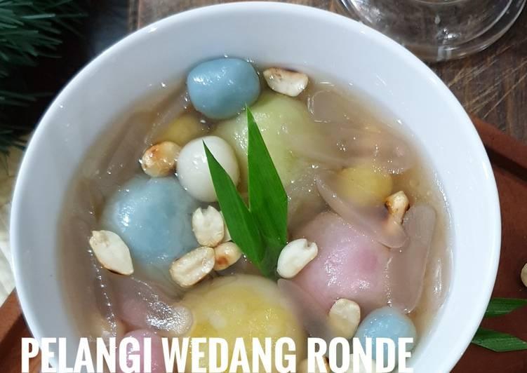 Resep: 25. Pelangi Wedang Ronde pewarna alami / Wedang Ronde / Ronde sedap