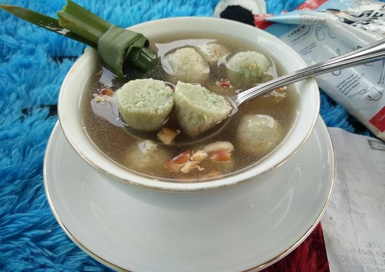 Resep memasak [menu diet] wedang ronde oatmeal ala resto