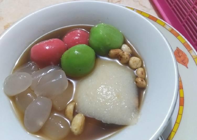 Resep: Wedang ronde+tahwa kuah jahe Homemade sedap