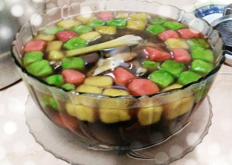 Resep: Wedang ronde ubi 🍠 lezat