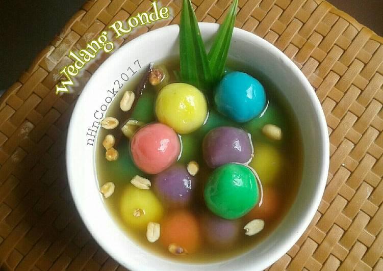Resep: Wedang ronde ala fridajoincoffee