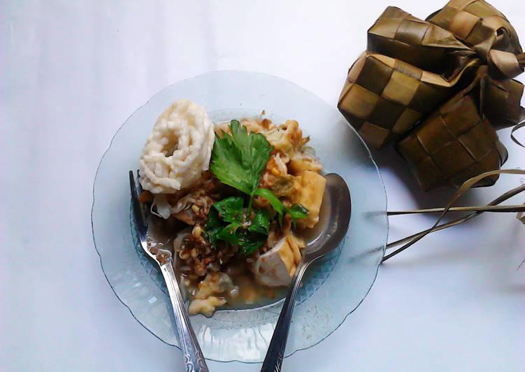 Resep mengolah Kupat Tahu khas Magelang lezat