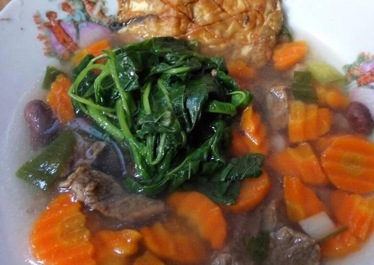 Cara mengolah Sup Senerek Magelang yang menggugah selera