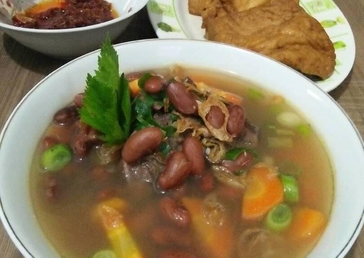 Cara Mudah memasak Sup Senerek / Kacang Merah khas Magelang