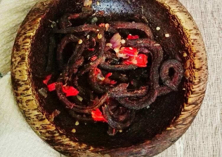 Resep: Belut goreng sambal cobek #bikinRamadhanberkesan #day25 enak