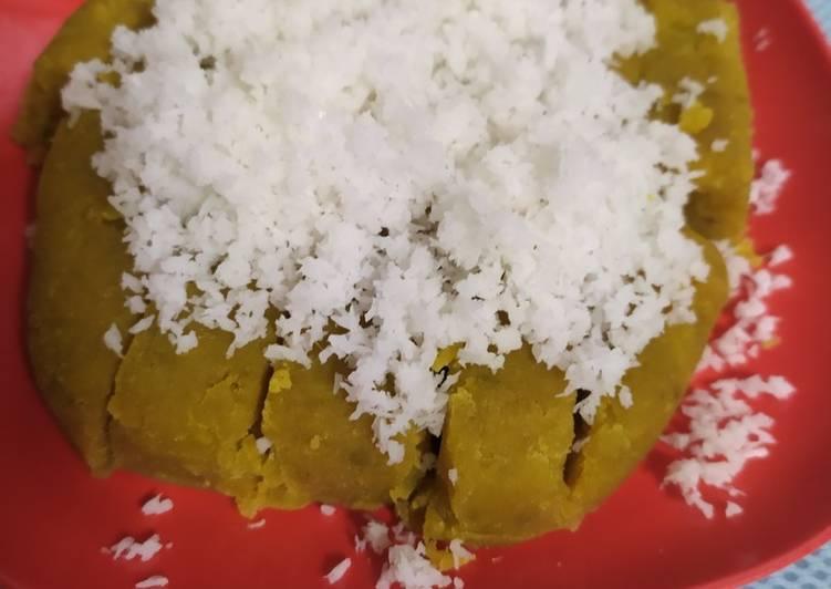 Cara Mudah mengolah Gethuk ubi jalar gula merah ala resto