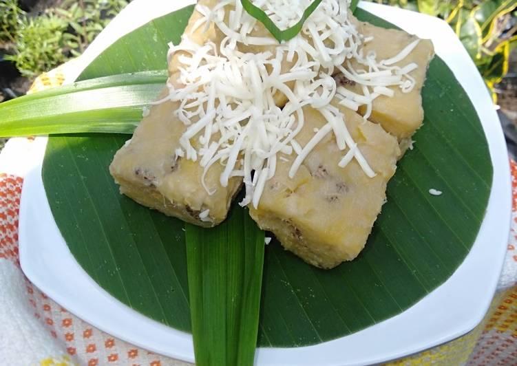 Resep mengolah Getuk pisang pipit yang bikin ketagihan