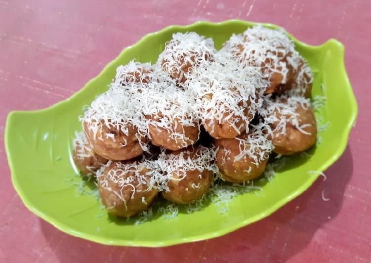 Resep memasak Getuk keju