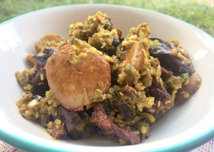 Cara memasak Goreng Belut & Jengkol Lado Mudo istimewa