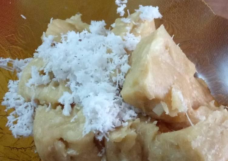 Cara Mudah memasak Gethuk lindri(singkong) sedap