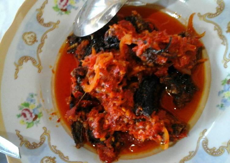 Cara memasak Goreng belut cabe merah enak