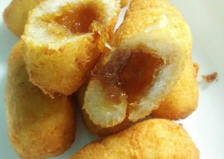 Resep: Misro/jemblem/cotot goreng isi gula merah enak
