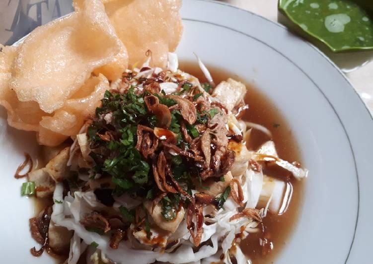 Cara memasak Kupat tahu banjarnegara sedap