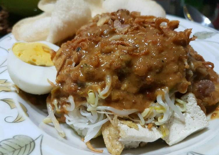 Cara memasak Kupat tahu praktis & yummy enak