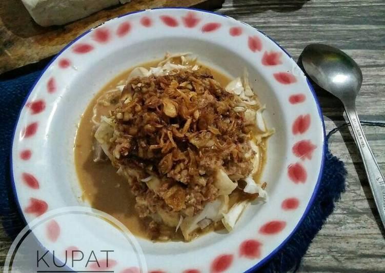 Cara memasak Kupat tahu yang bikin ketagihan