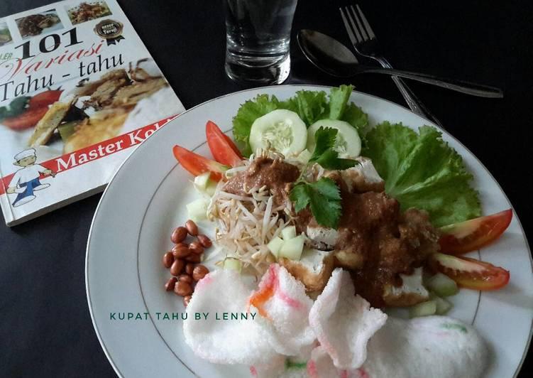Cara Mudah memasak Kupat tahu bumbu kacang (#postingrame2_masakantahu) istimewa