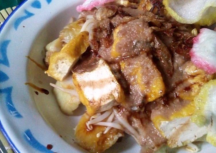 Resep mengolah Kupat Tahu Singaparna Wanna be ala resto
