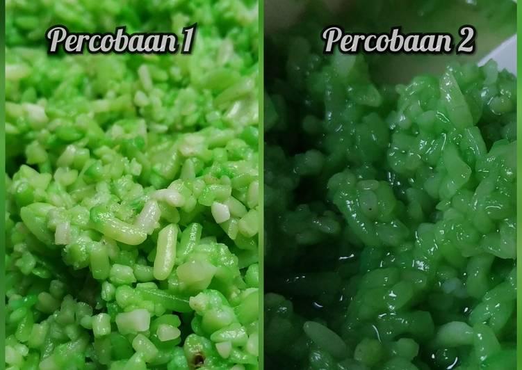 Cara Mudah mengolah Tape ketan hijau manis sedap