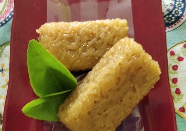 Resep mengolah Wajik ketan gula merah legit yang bikin ketagihan
