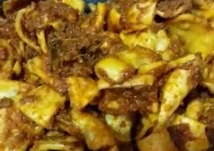Cara Mudah memasak Randang talua (rendang telor)