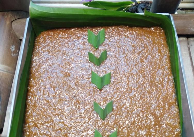 Cara Mudah mengolah Wajik gula merah yang bikin ketagihan