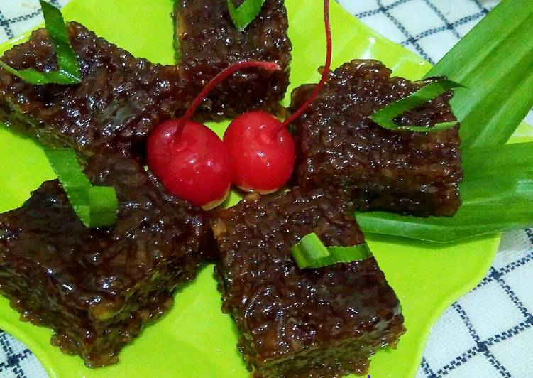 Resep: Jaja Wajik khas Bali ala resto