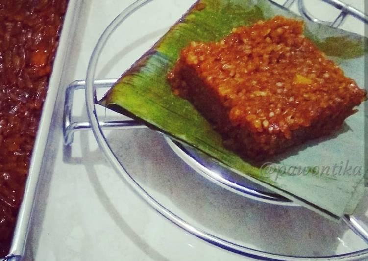 Resep memasak Wajik ketan gula merah
