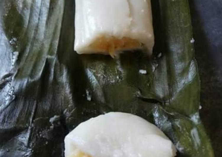 Cara memasak Nagasari isi pisang lezat