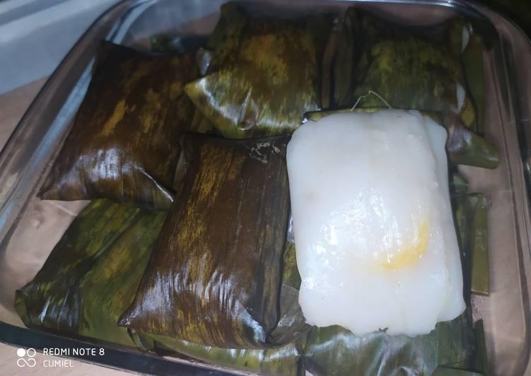 Cara memasak Nagasari/pais pisang/bongko/Kue pisang enak