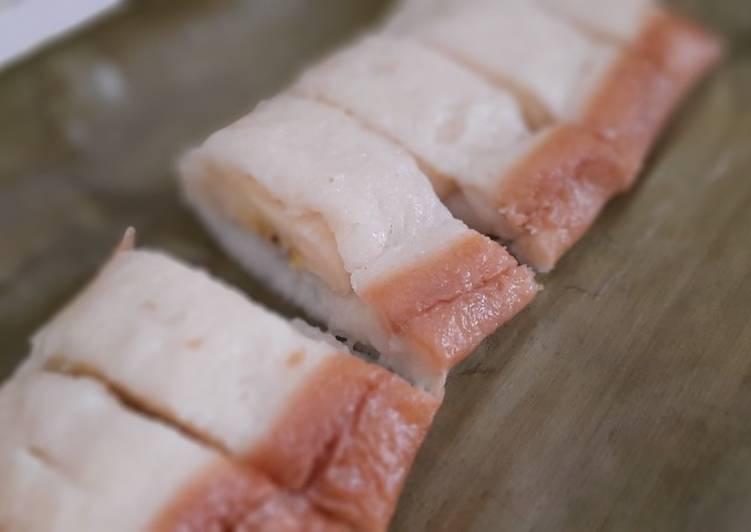 Resep membuat Nagasari roti tawar sedap