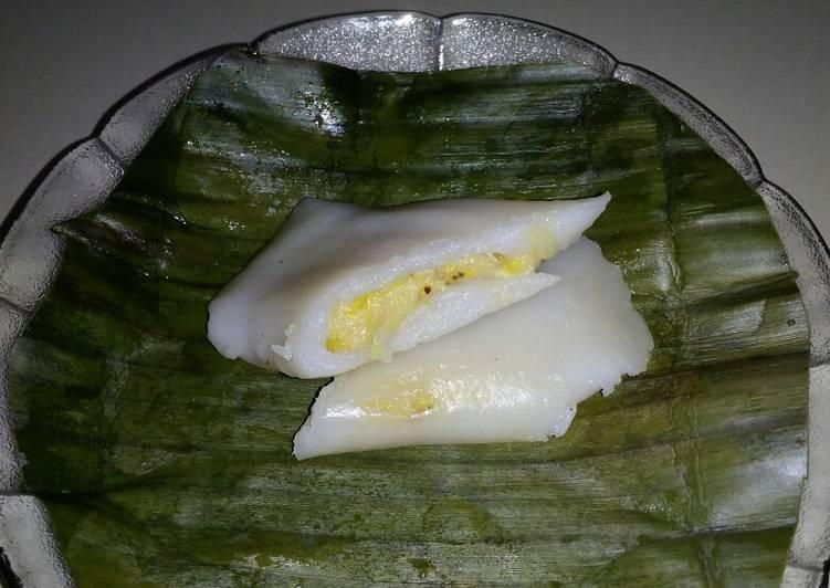 Cara memasak Nagasari pisang (lemet pisang) yang menggugah selera