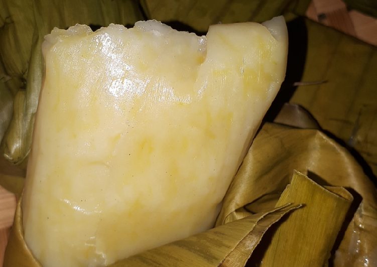 Resep: Sumping waluh / nagasari labu kuning