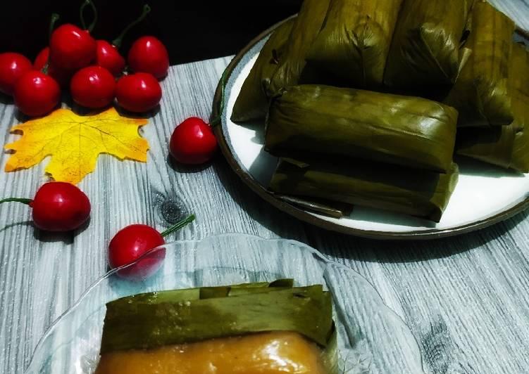Resep: 246# papais beureum/nagasari merah istimewa