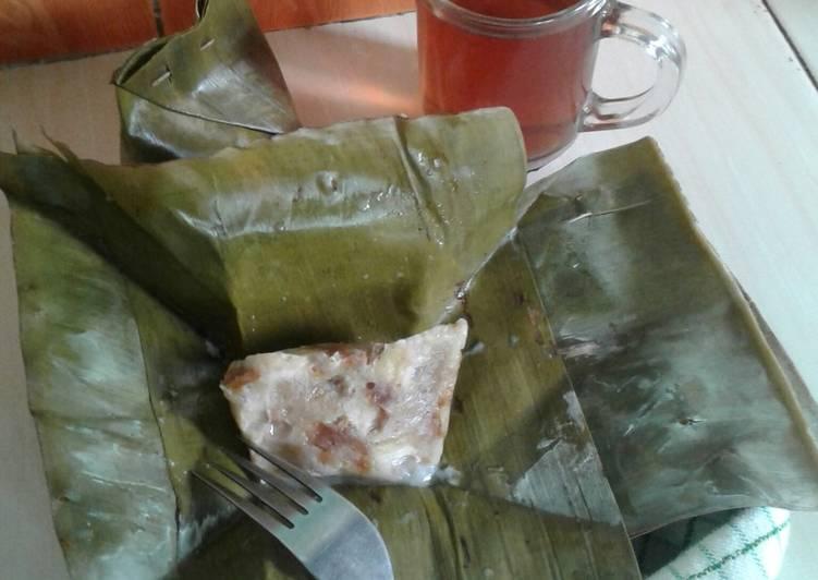 Cara membuat Nagasari roti tawar istimewa